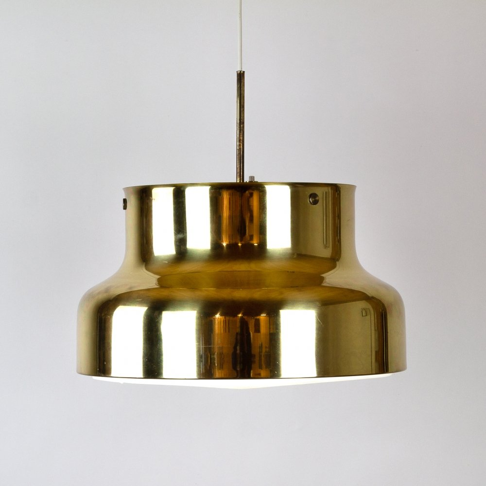 Brass Bumling Pendant Light by Anders Pehrson, 1960s