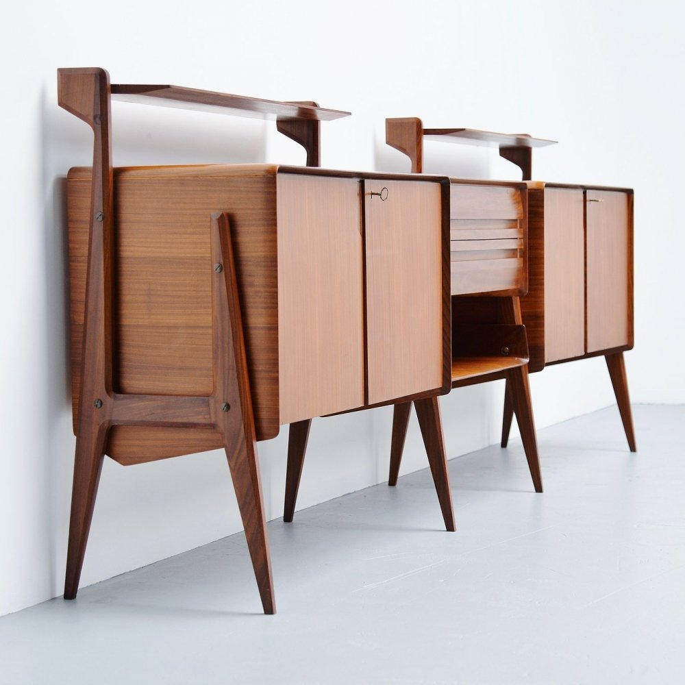 Ico Parisi long sideboard for Cantu, Italy 1955