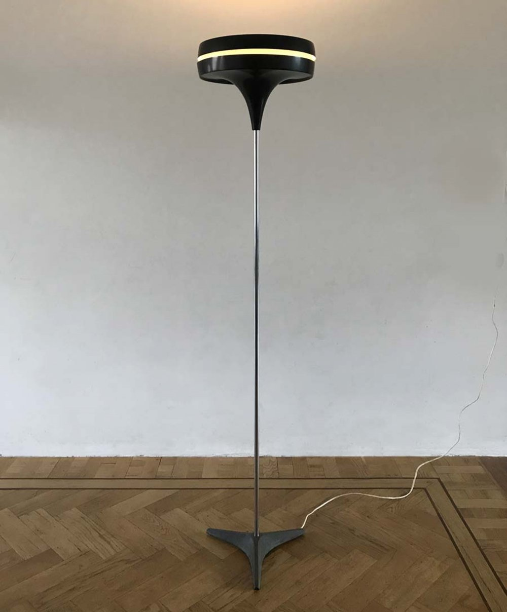 Rare floor lamp by Raak Amsterdam, 1960