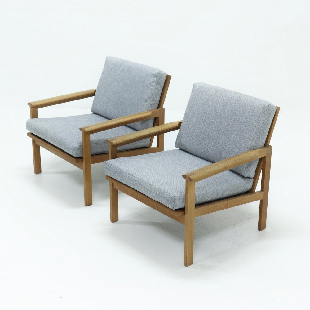 Set of 2 Capella Chairs by Illum Wikkelso for N. Eilersen, 1960s
