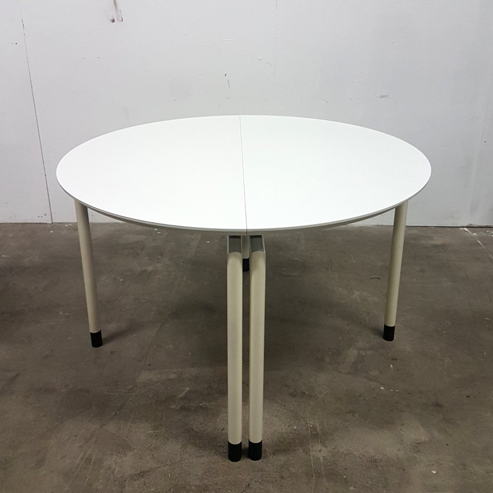 Post modern extendable dining table, 1970s