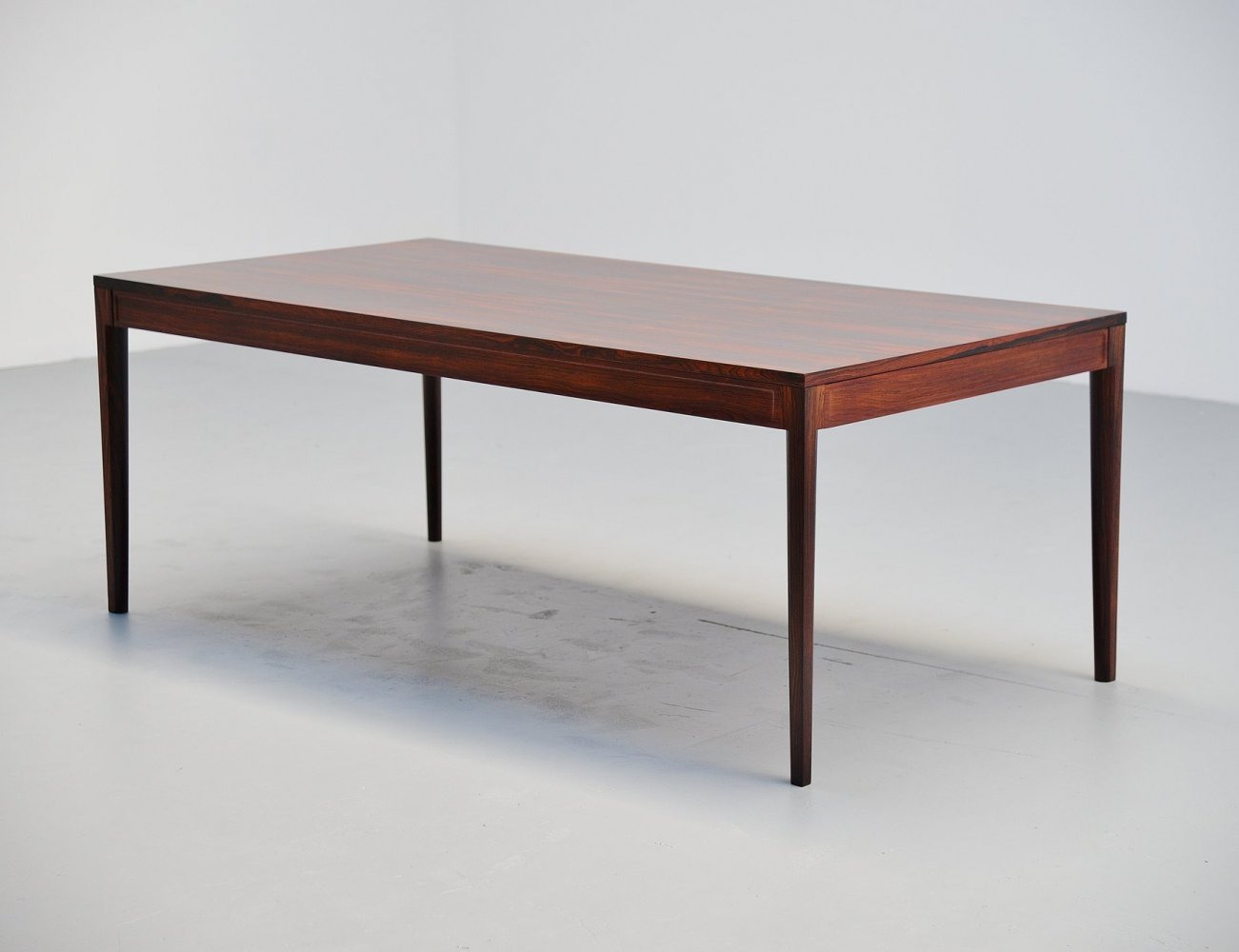 Finn Juhl diplomat dining table by France & Son, Denmark 1962