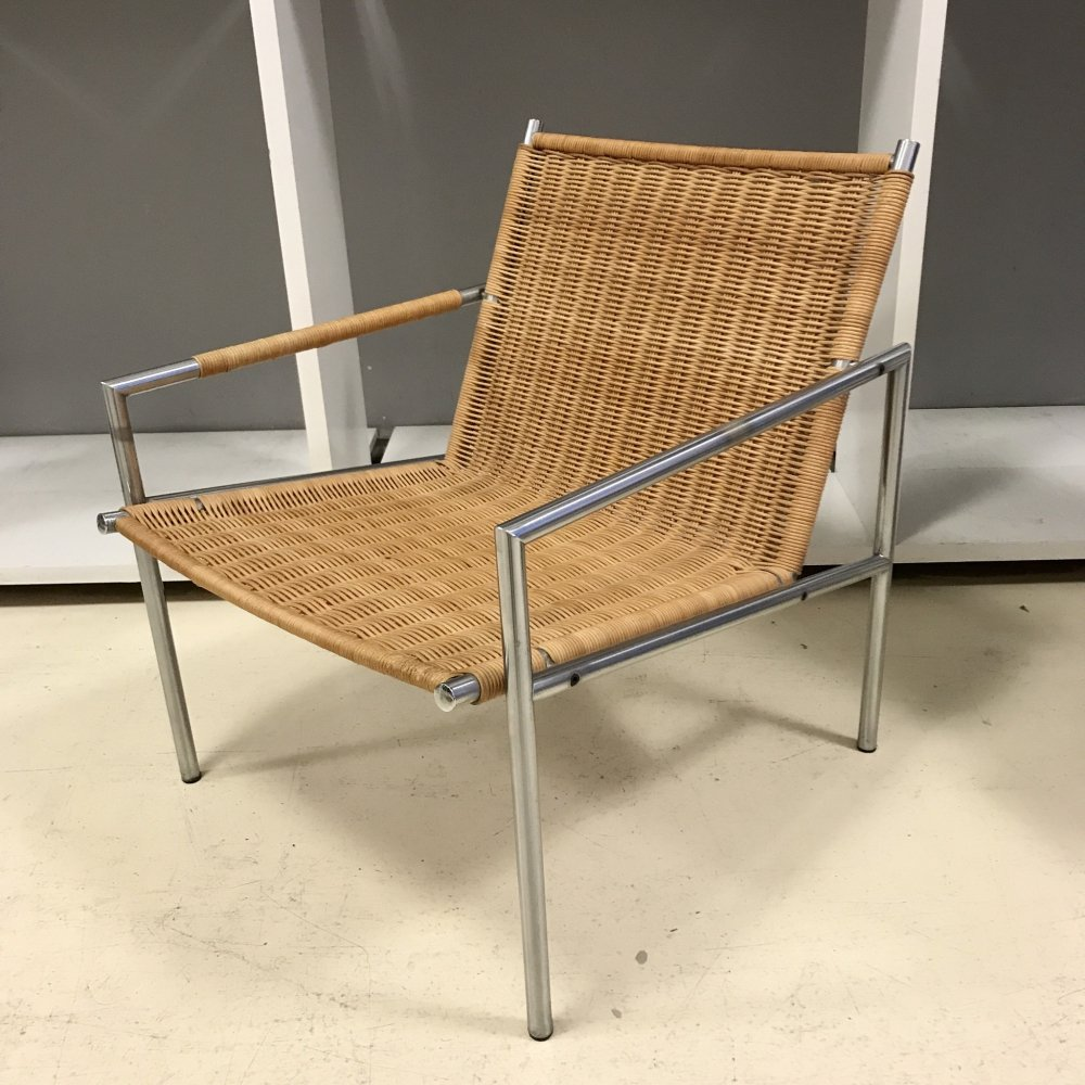 Wicker SZ01 armchair by Martin Visser, 1970s