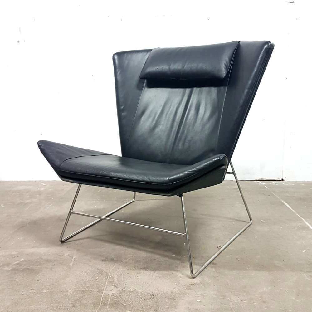 New old stock post modern lounge chair, 1980s