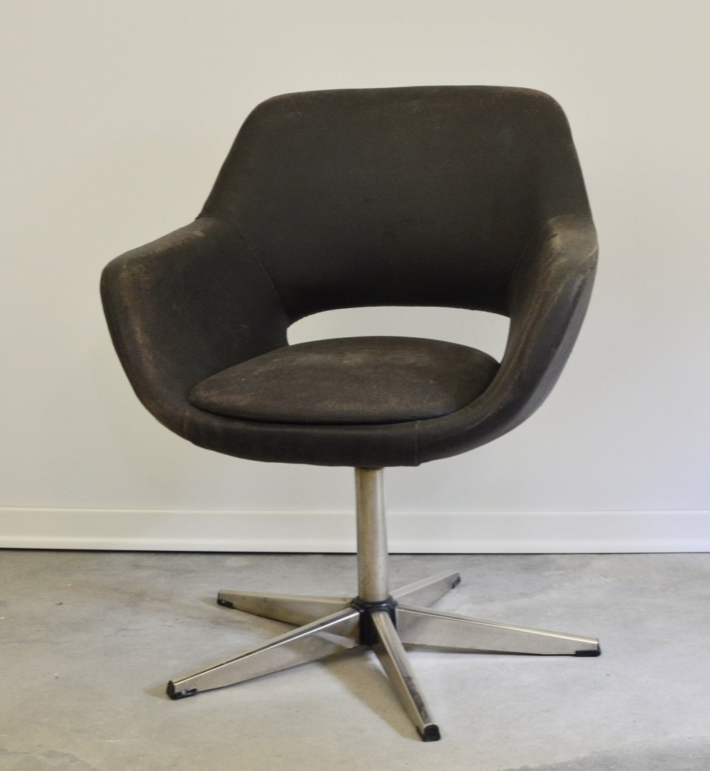 Swiveling Lounge Chair by Niko Kralj, 1970s