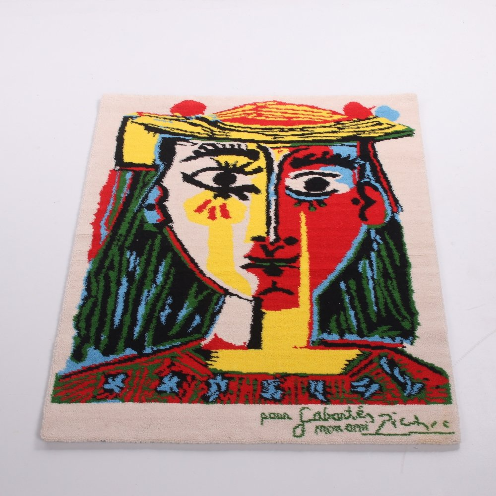 Pablo Picasso pure virgin wool tapestry