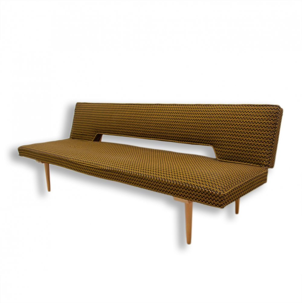 Midcentury Adjustable Sofa Bench by Miroslav Navrátil, Czechoslovakia 1960s