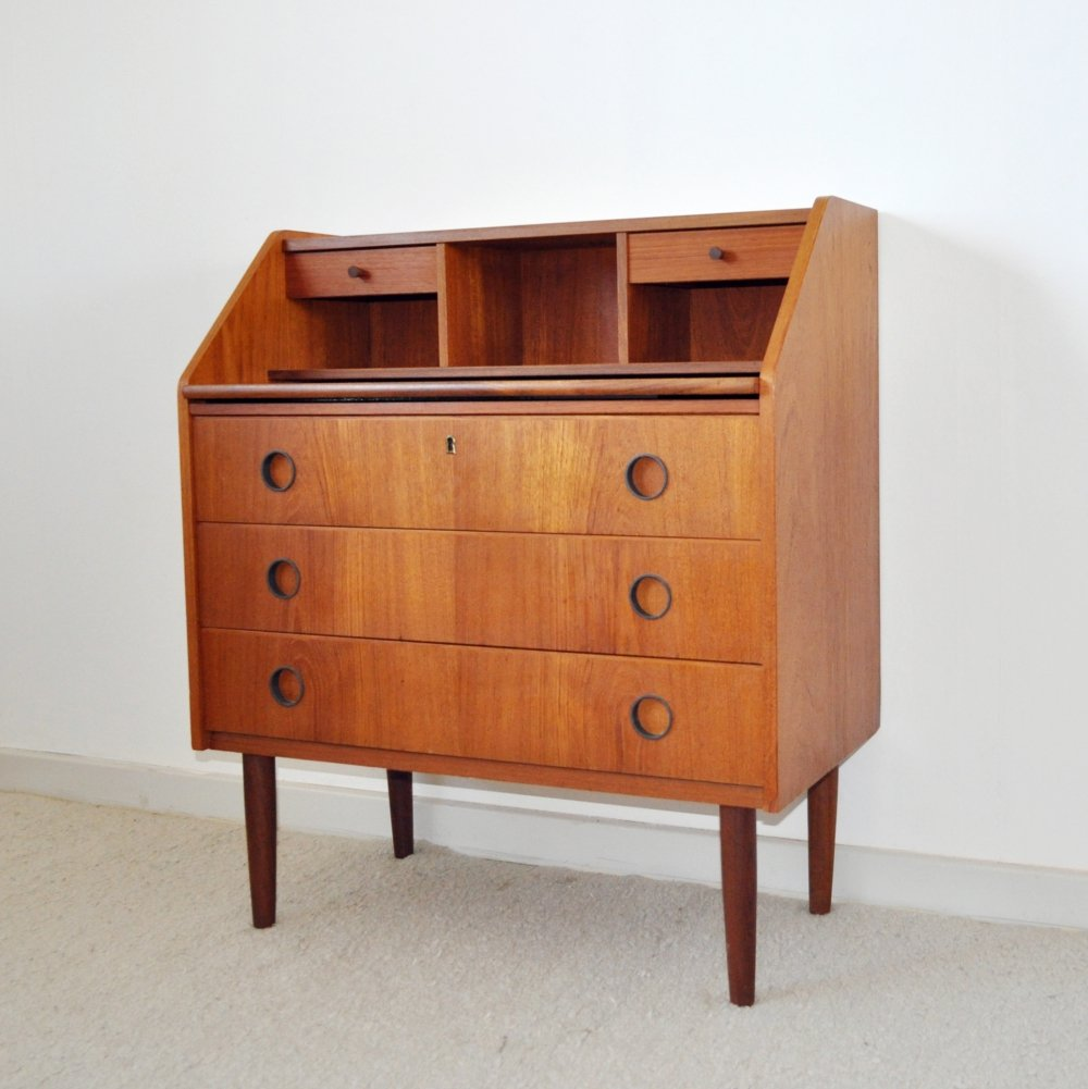 Swedish Secretaire or chest of drawers, 1970s