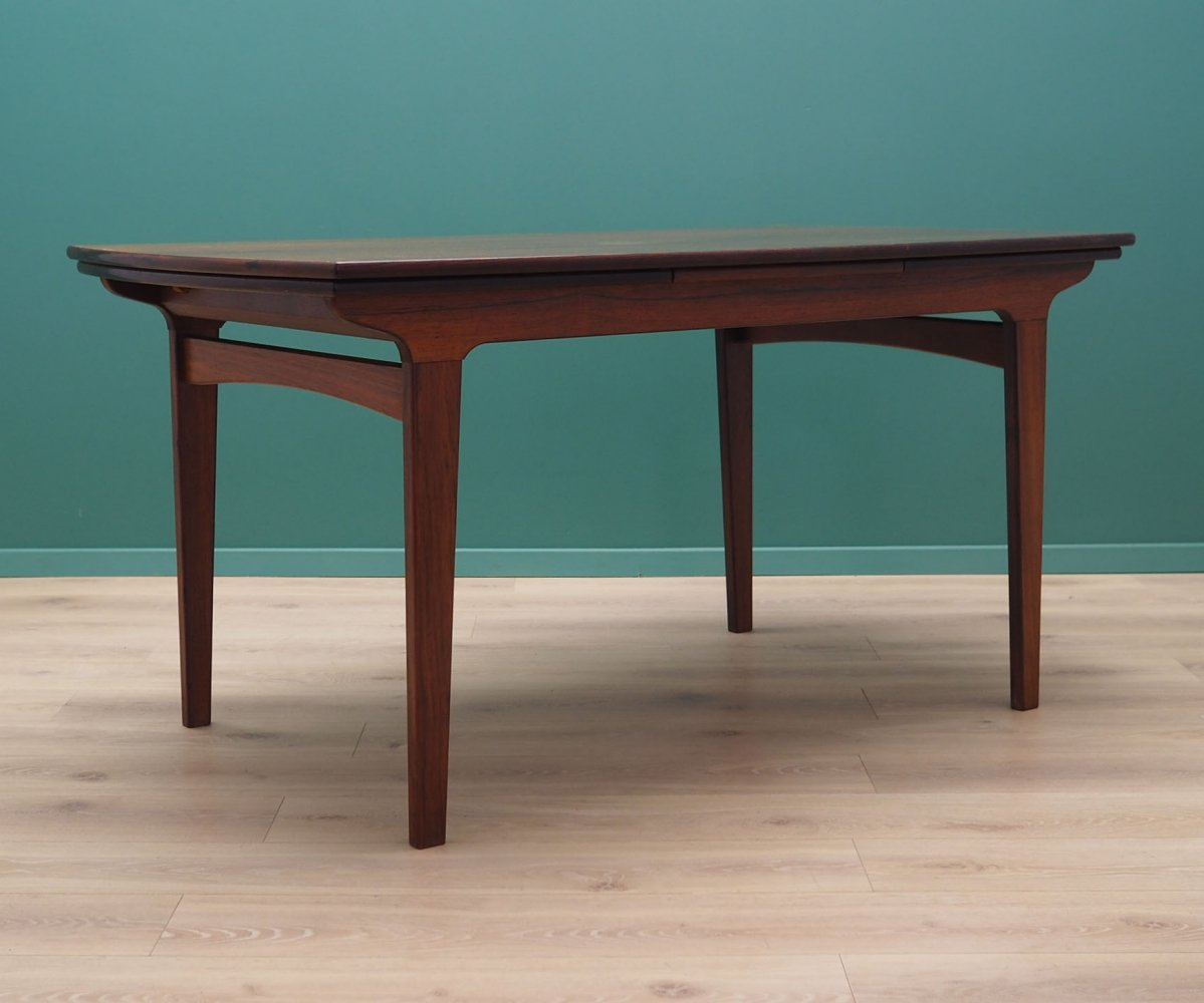 Danish design table in rosewood, 1960s