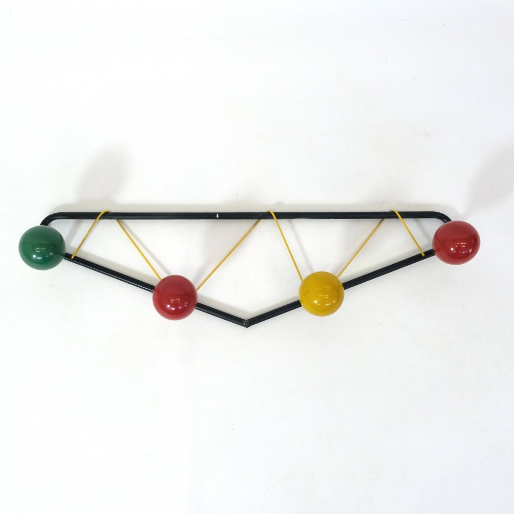 Vintage coat rack produced in the 1960