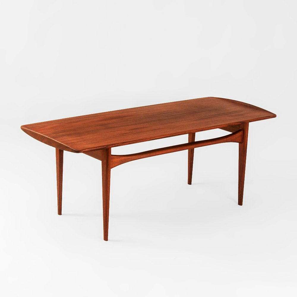Danish coffee table by Tove & Edvard Kindt-Larsen for France & Søn, 1950