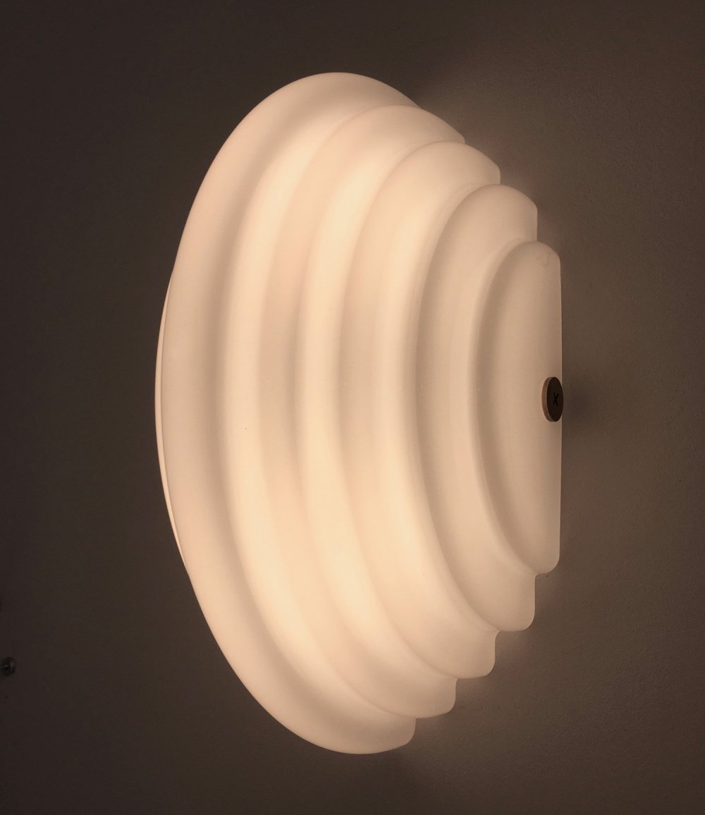 Pair of Kumo 2 wall lamps by Kazuhide Takahama for Sirrah, 1970s