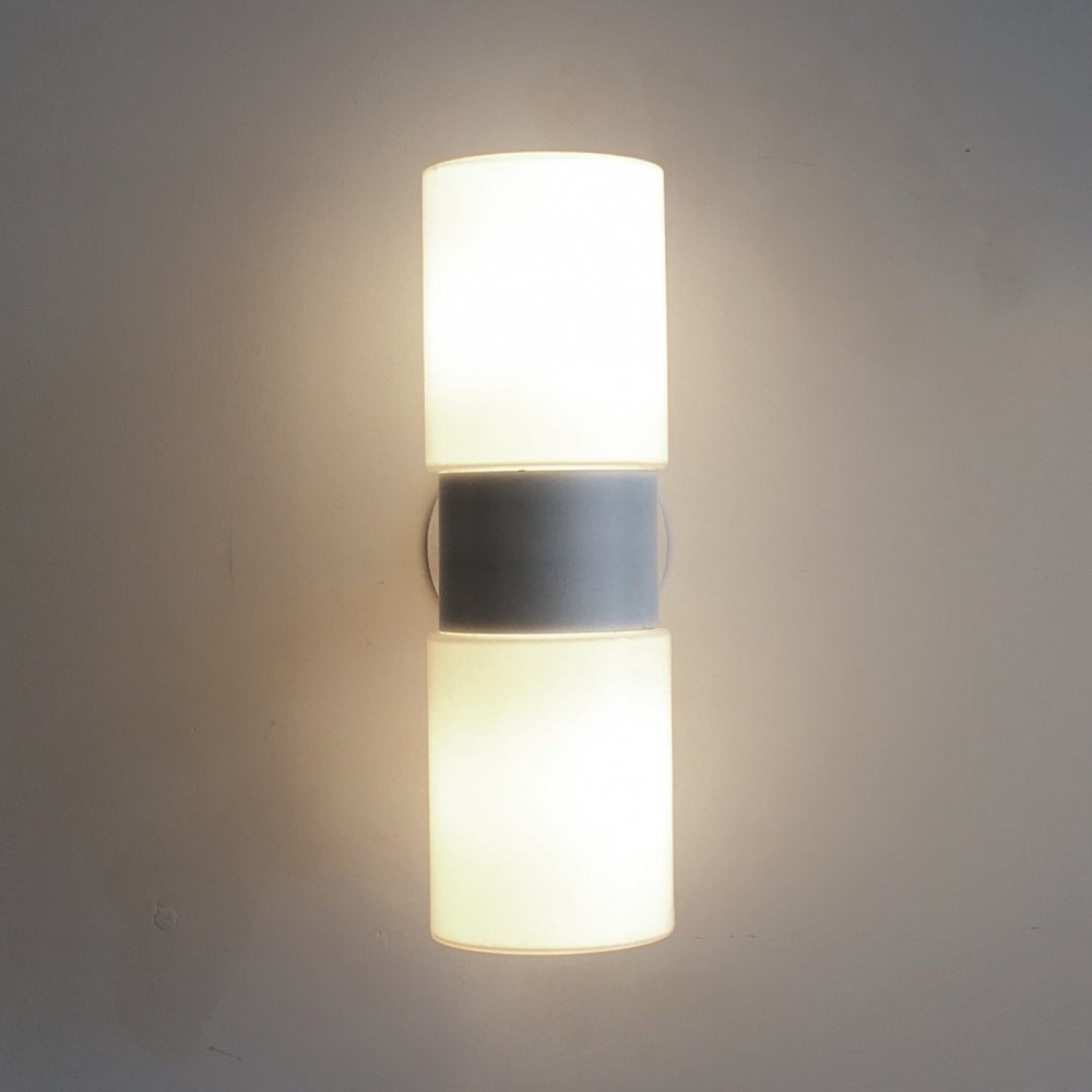 White sconce by Hans Agne Jakobsson, 1960s