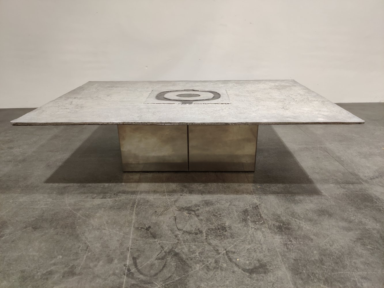 Vintage coffee table by Willy Ceysens, 1970s