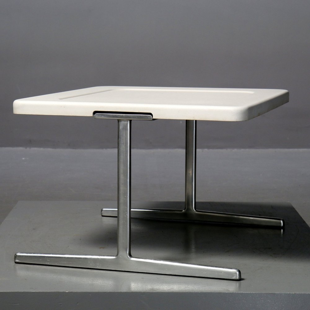 Rare Table 601/602 by Dieter Rams for Vitsoe, 1960s