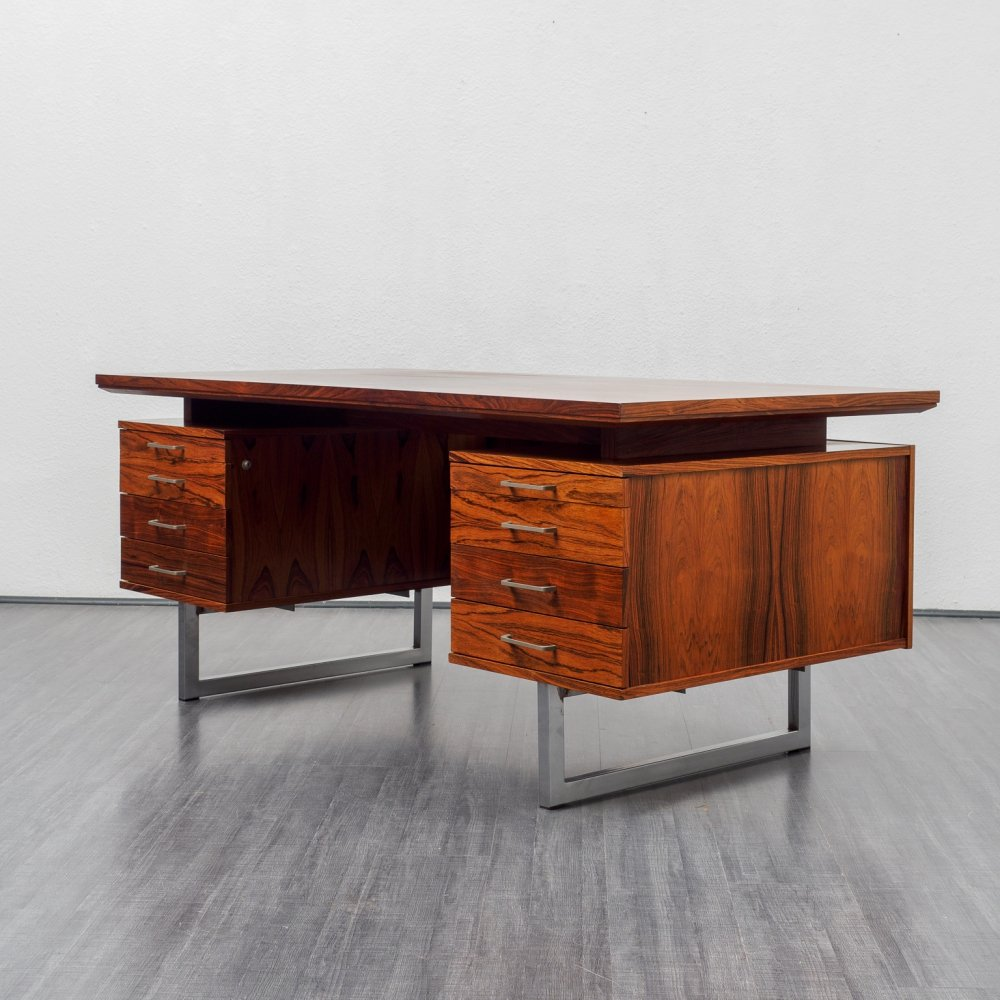 Exclusive 1960s rosewood desk
