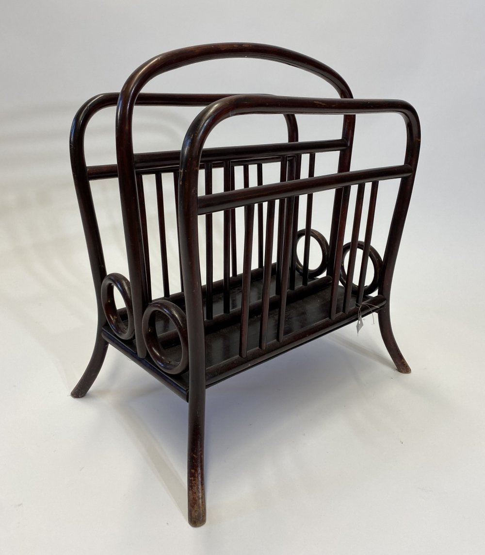 Thonet magazine holder no.33