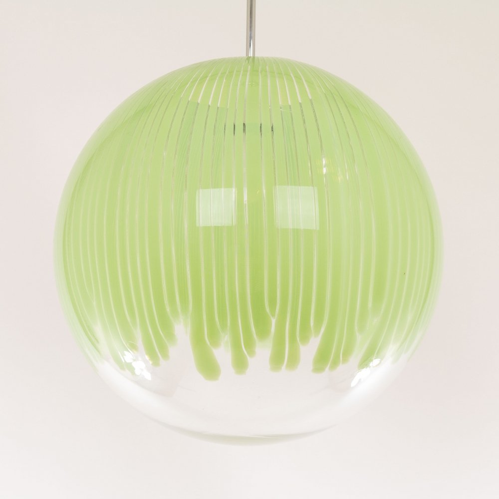 Anemone Murano glass pendant by Ludovico Diaz de Santillana for Venini