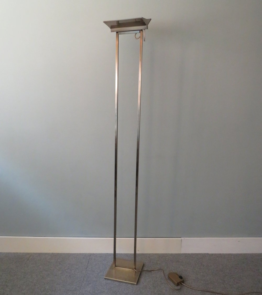 Floor lamp by Belgochrom, Belgium 1980