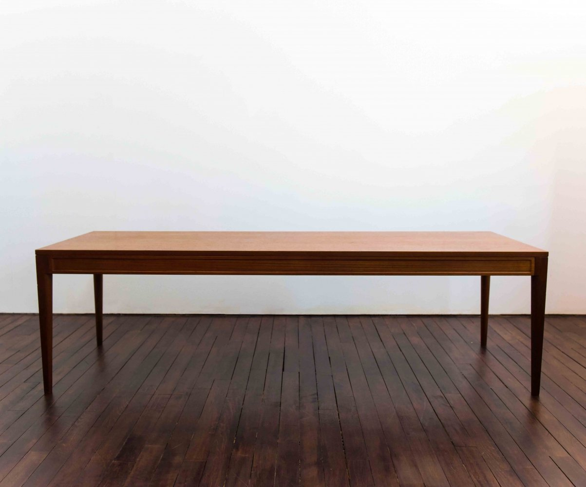 Finn Juhl Diplomat table in teak wood by France & Son, 1960s
