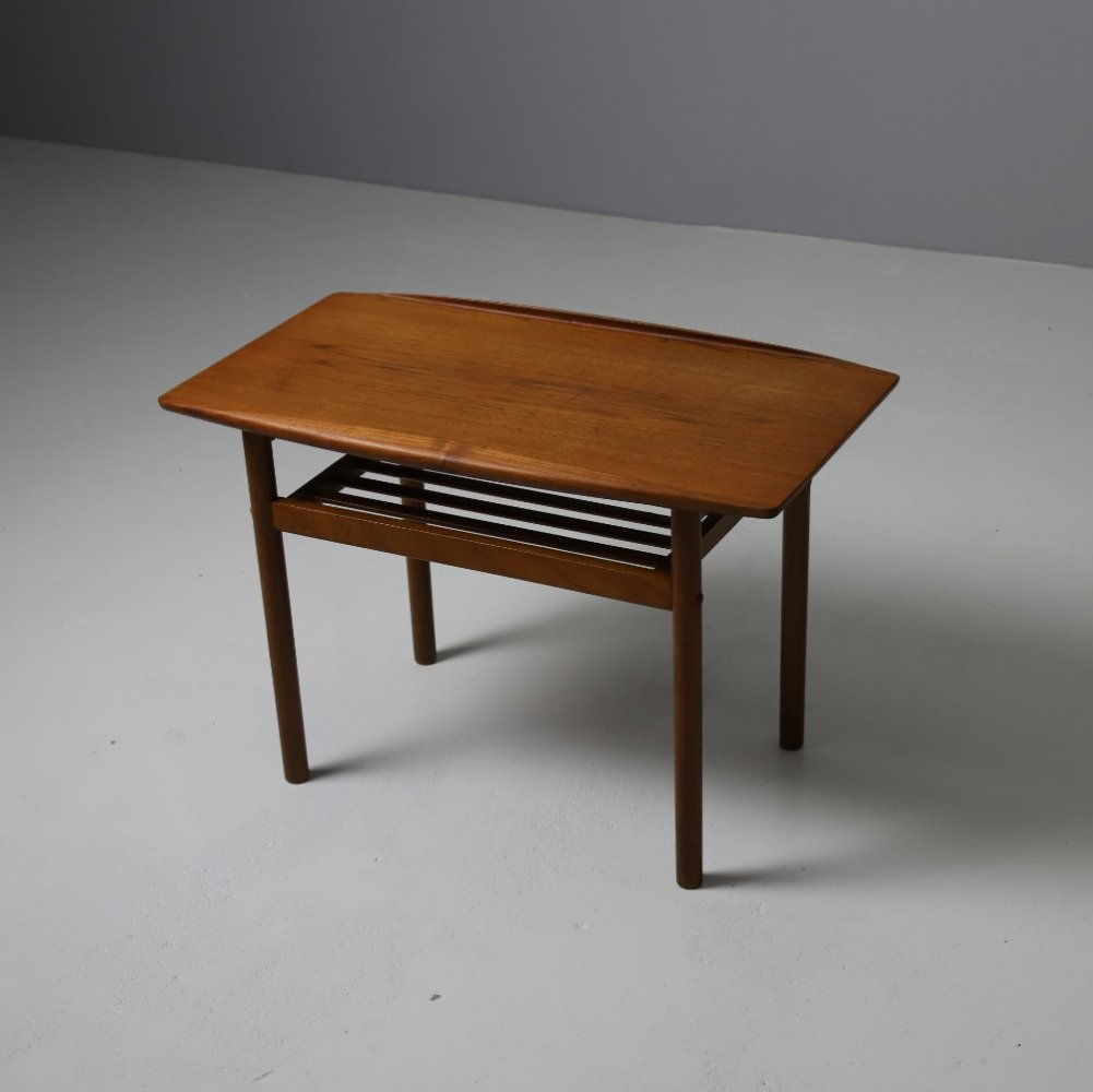 Small coffee table by Grete Jalk for P. Jeppesen, Denmark 1960s