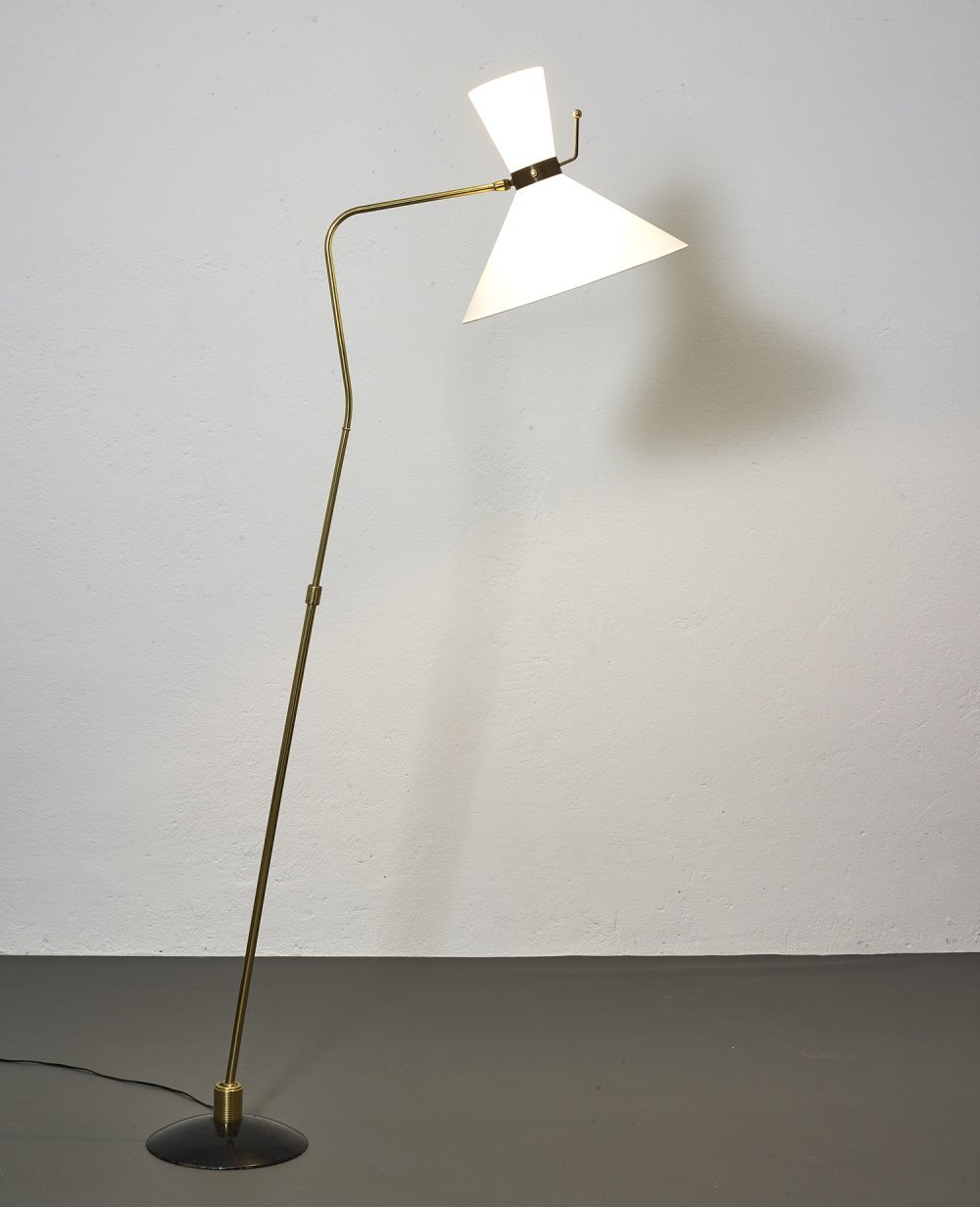 Floor lamp by Maison Arlus, 1950