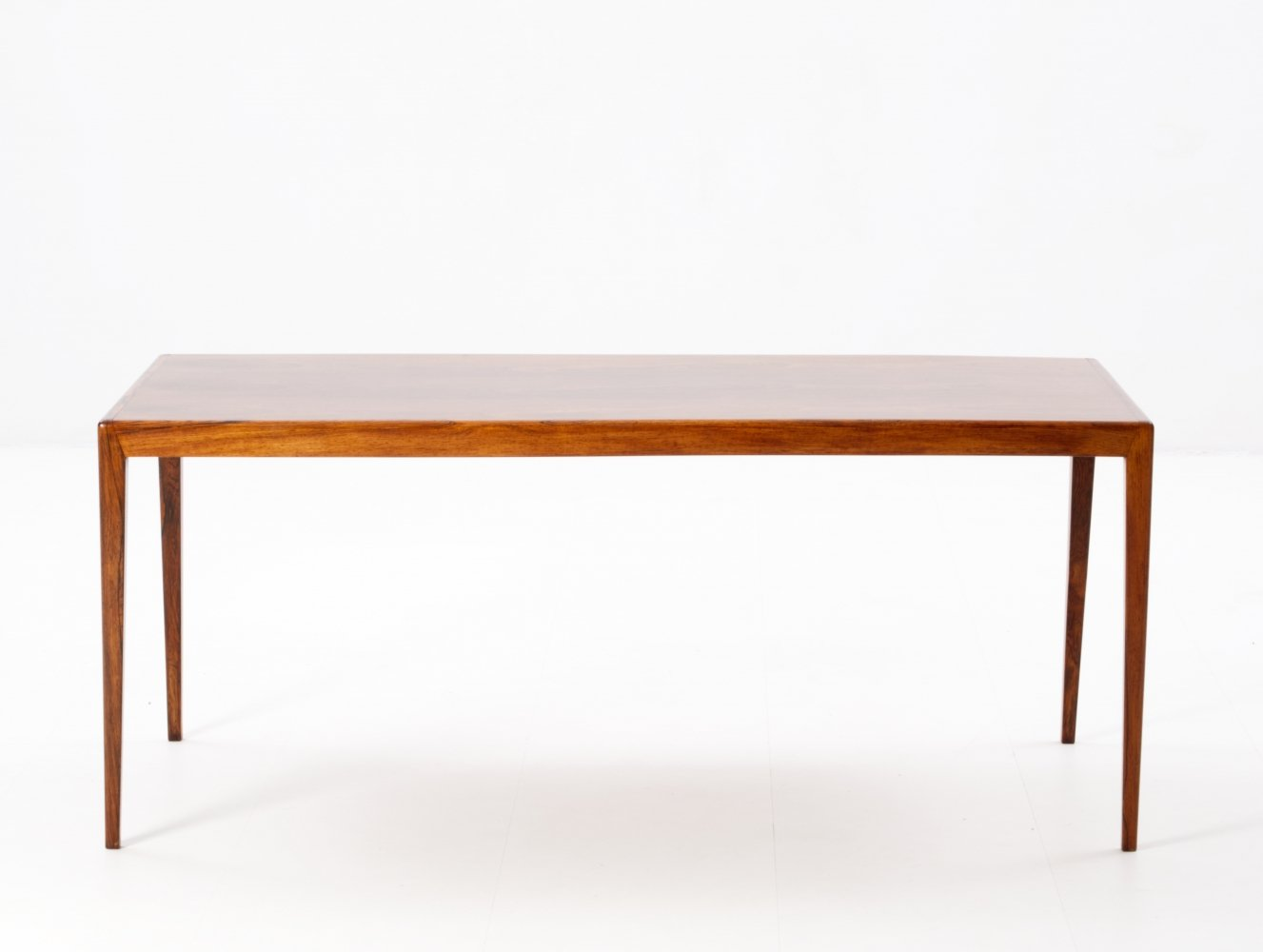 Brazilian rosewood coffee table, 1960s