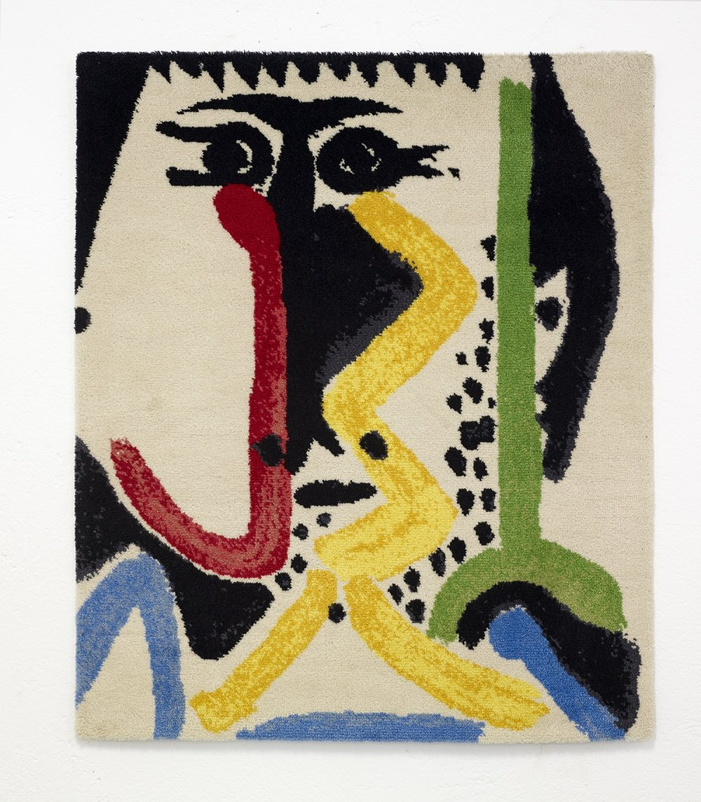 Picasso limited edition artist rug, 1990s
