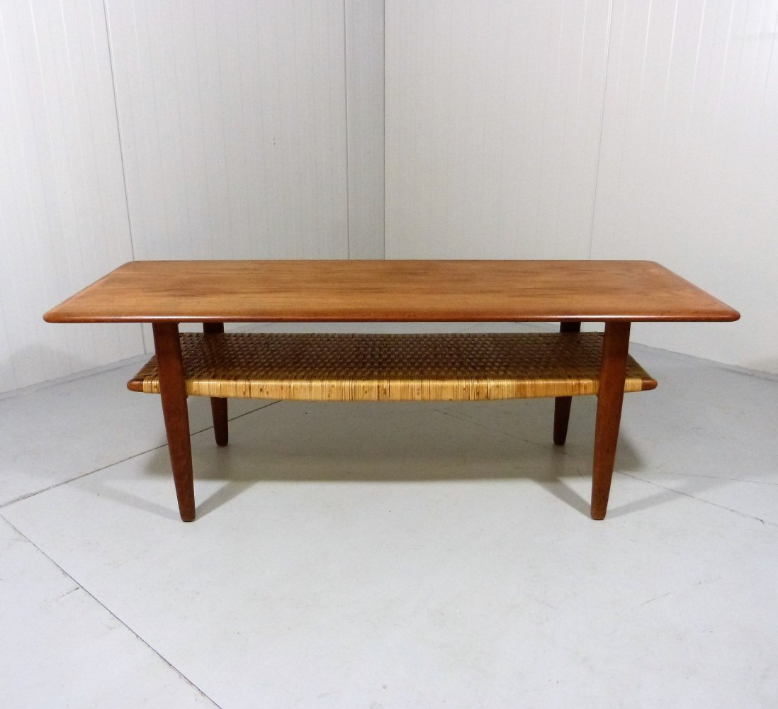 Danish teak coffee table, 1960