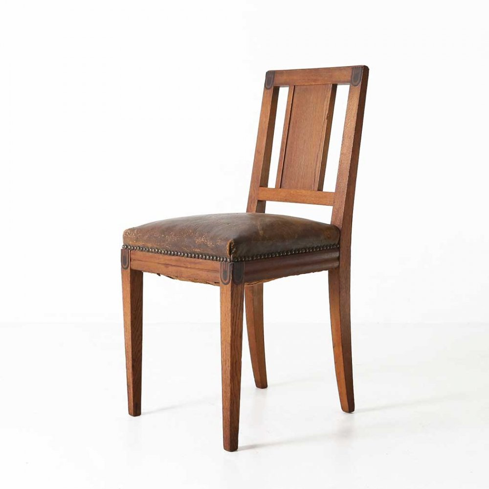 Maurice Dufrene dining chair, 1920s