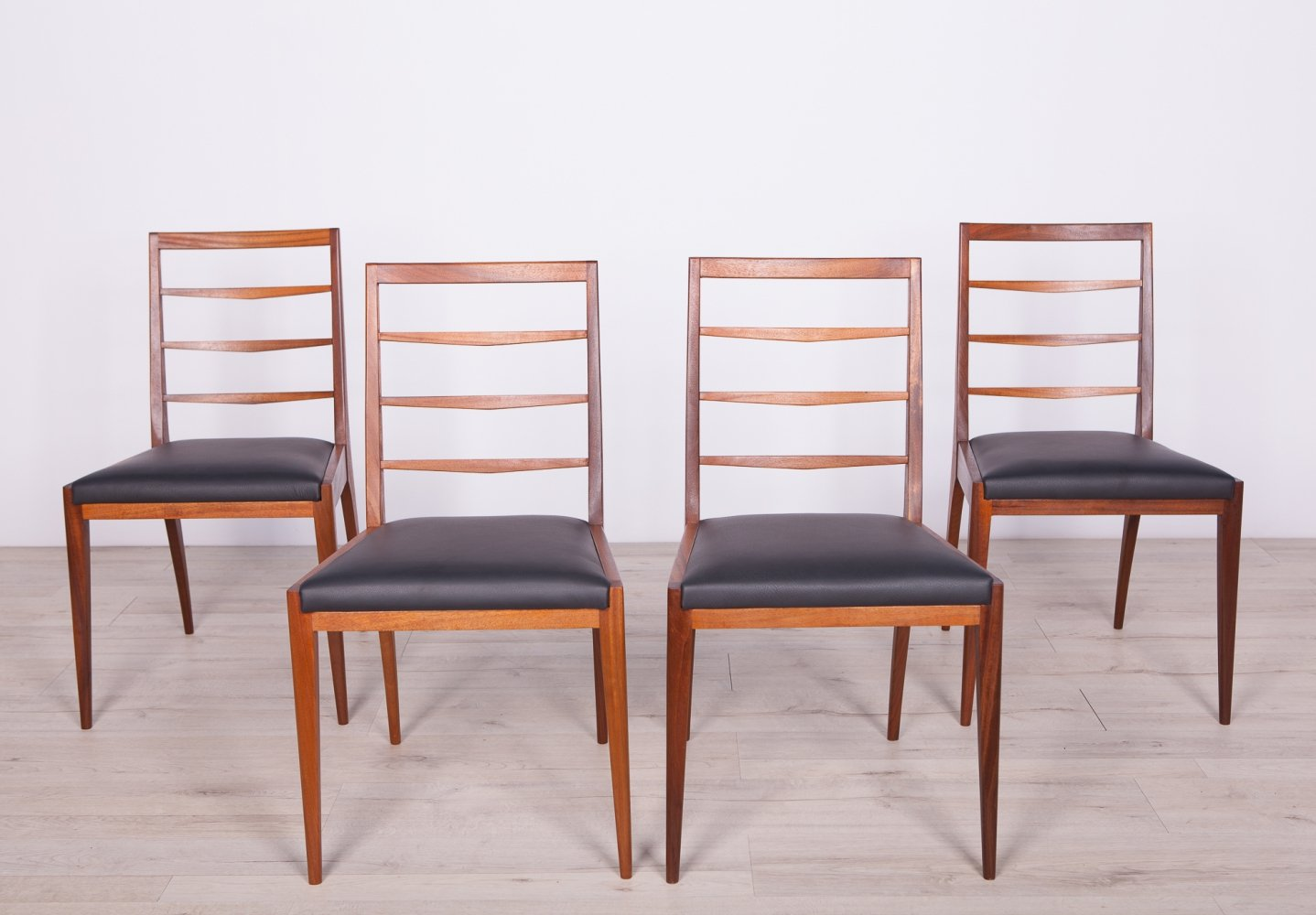 Set of 4 Mid Century Teak Dining Chairs from McIntosh, 1960s
