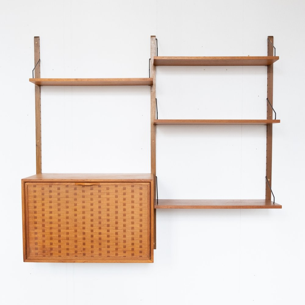 Wall unit by Poul Cadovius, 1960s