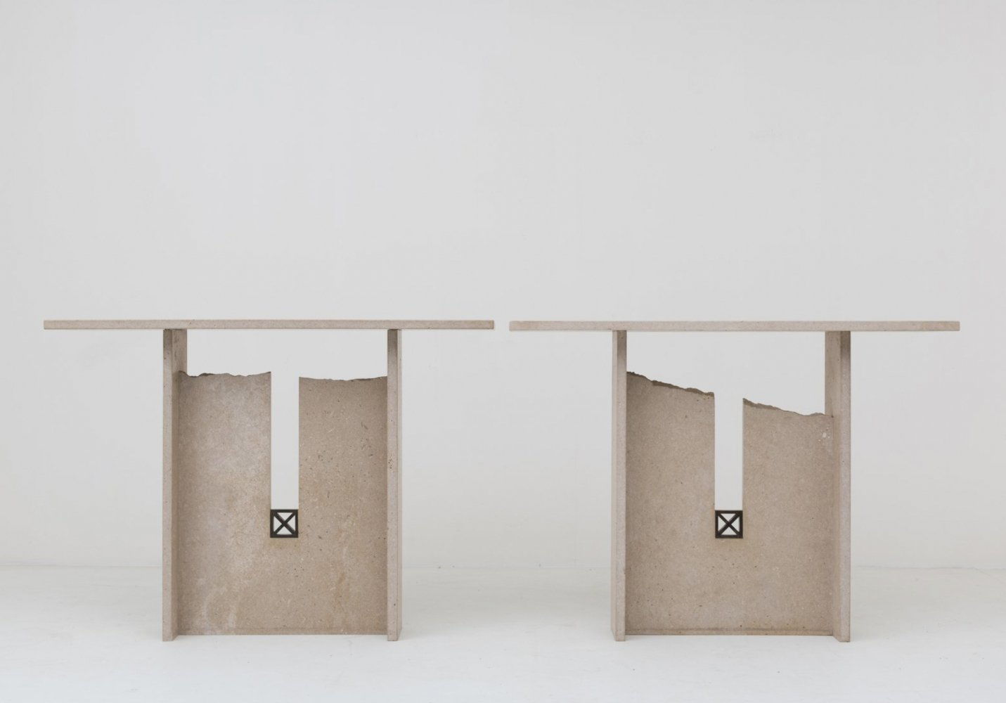 2 x Console Table by Georges Mathias, 1978
