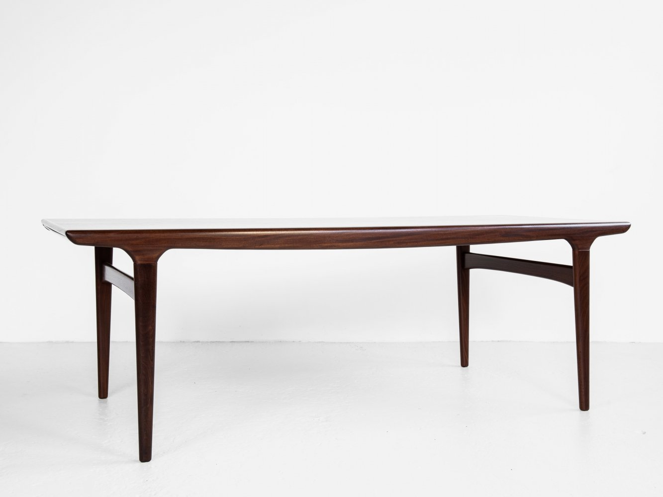 Midcentury Danish XL dining table by Johannes Andersen for Uldum, 1960s