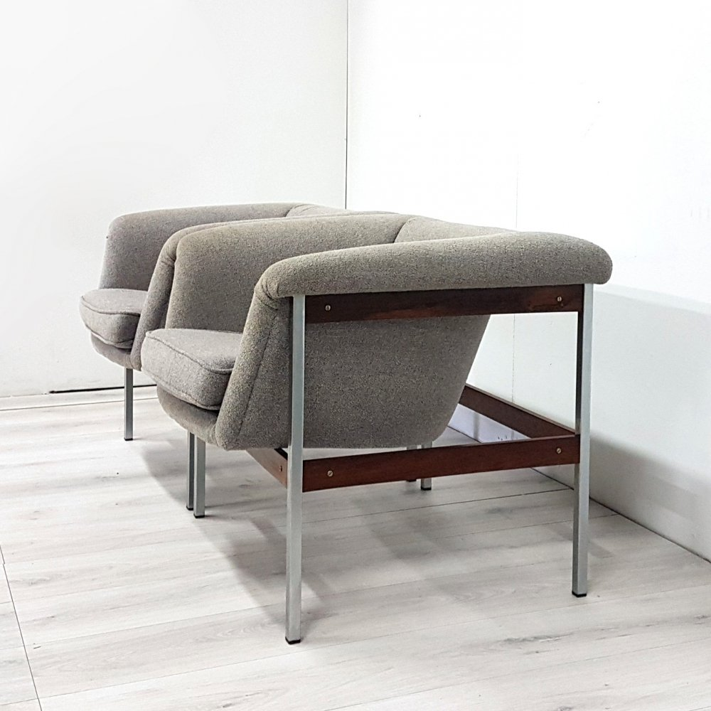 Pair of model 040 lounge chairs by Geoffrey Harcourt for Artifort, 1960s