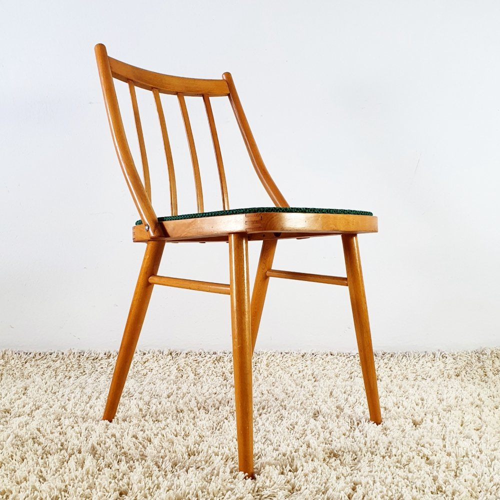 Set of 4 mid century dining chairs by Novy Domov, 1960s