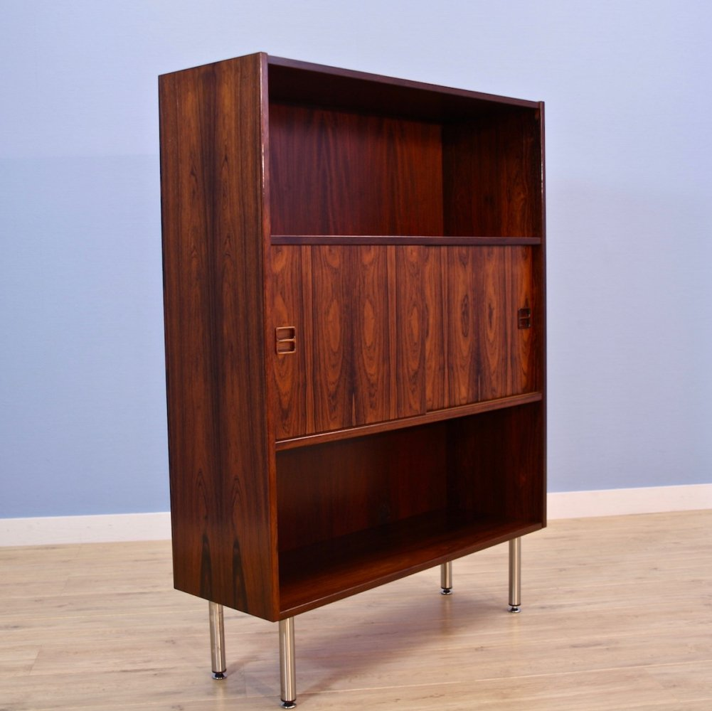 Danish bookcase / cabinet in rosewood, 1970s