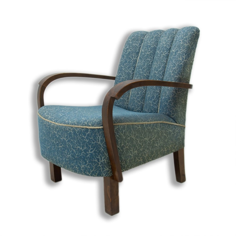 Bentwood armchair by Jindřich Halabala for UP Závody, 1930s