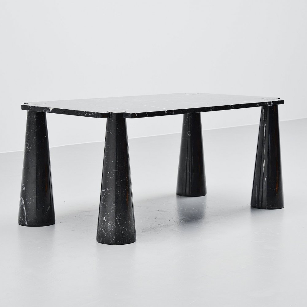 Angelo Mangiarotti Eros dining table by Skipper Italy, 1971