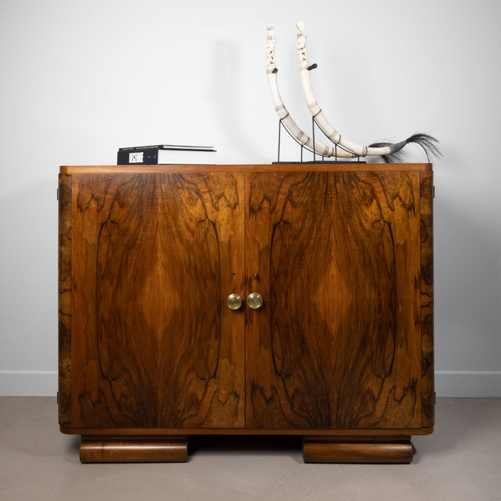 French mid-century cabinet in Rosewood, 1960s