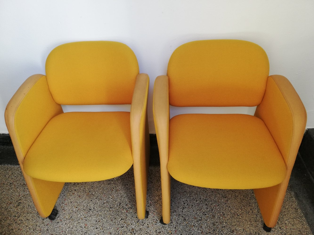 2 x Ahrend arm chair, 1990s