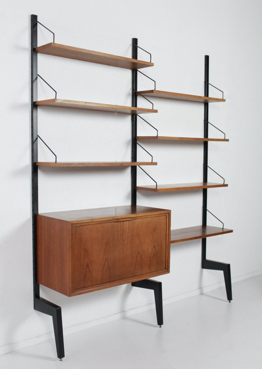 Royal System wall unit by Poul Cadovius for Cado Denmark, 1960s