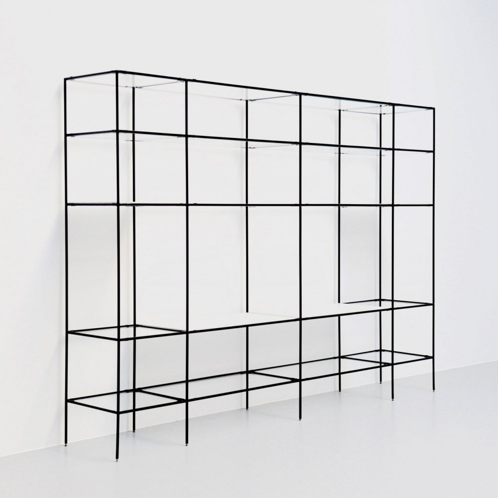 Abstracta shelving by Poul Cadovius for Royal System, Denmark 1960