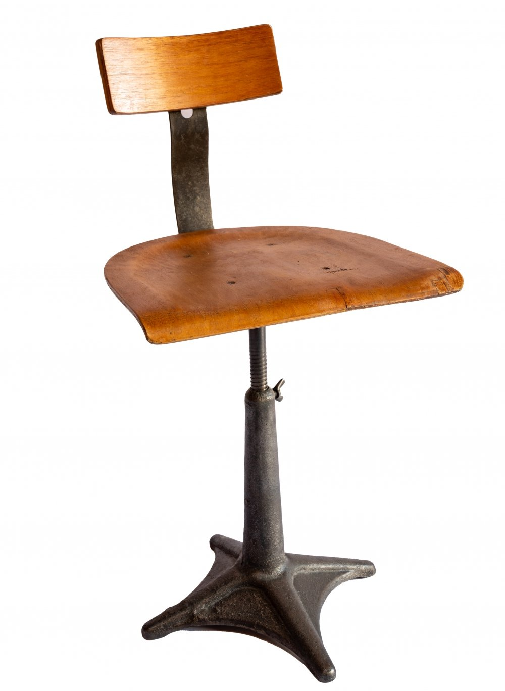 Industrial office chair / stool by Grylex, 1930s