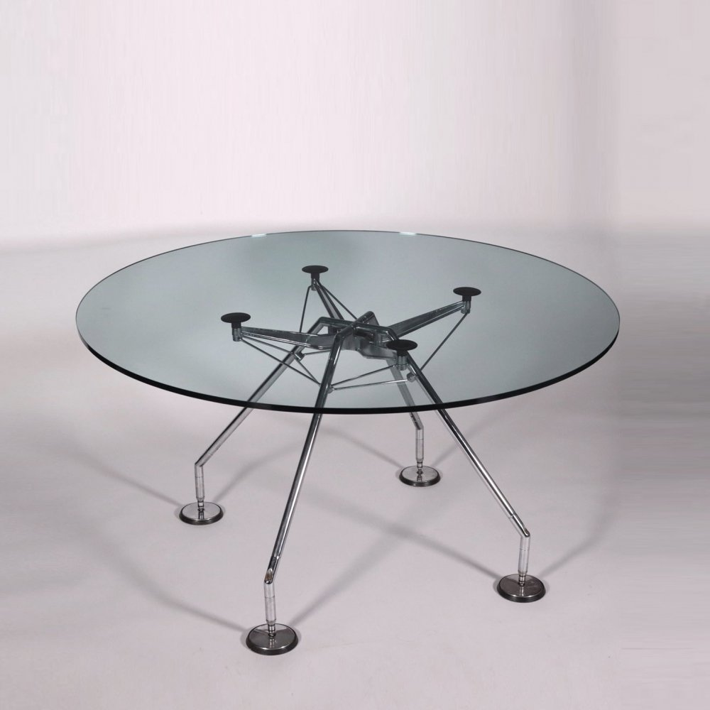 Nomos Table by Norman Foster for Tecno