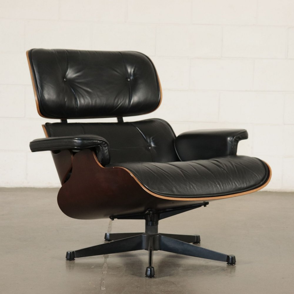 Eames Lounge Chair by ICF Italy, 1960s