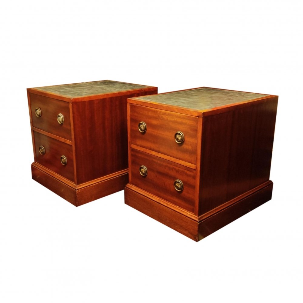 Pair of vintage chest of drawers, 1930s