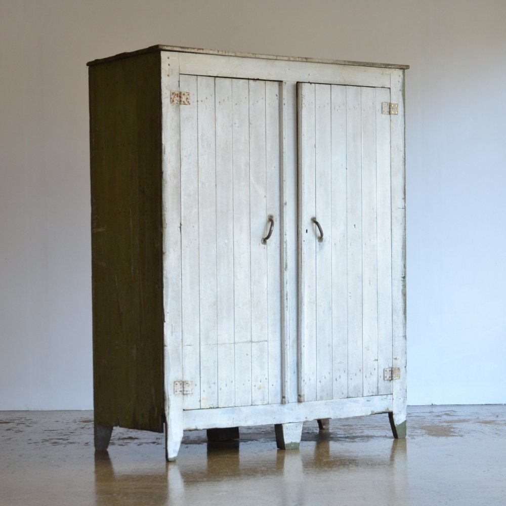 Large French timber cabinet, 1920s
