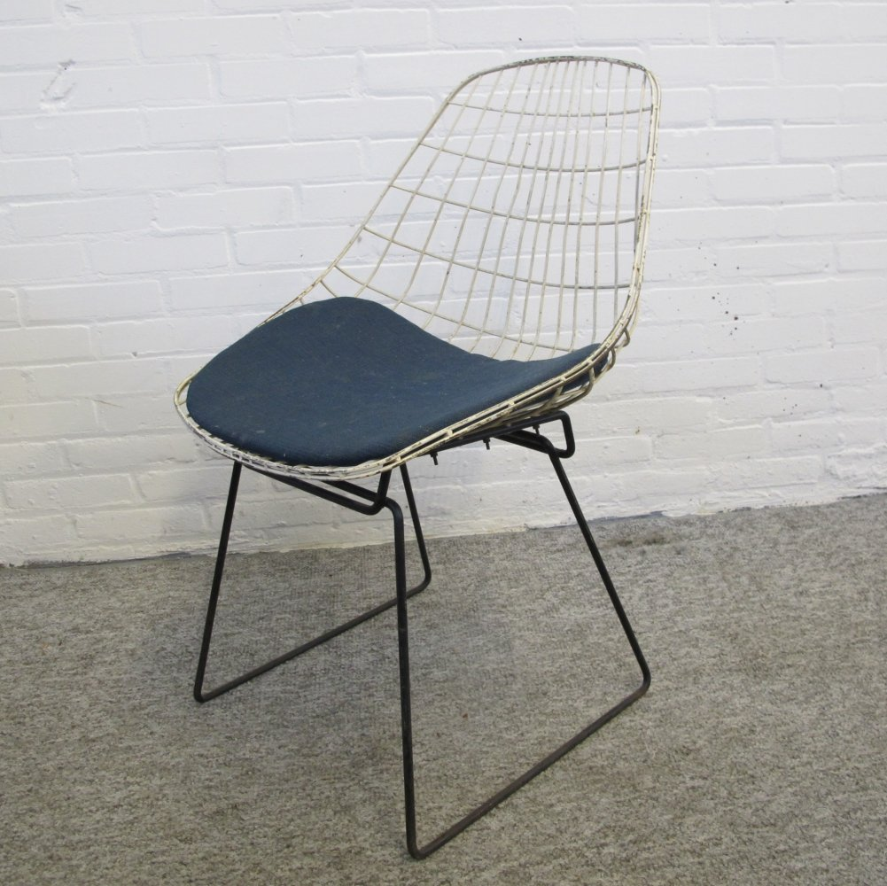 SM05 wire chair by Cees Braakman for Pastoe, 1960s