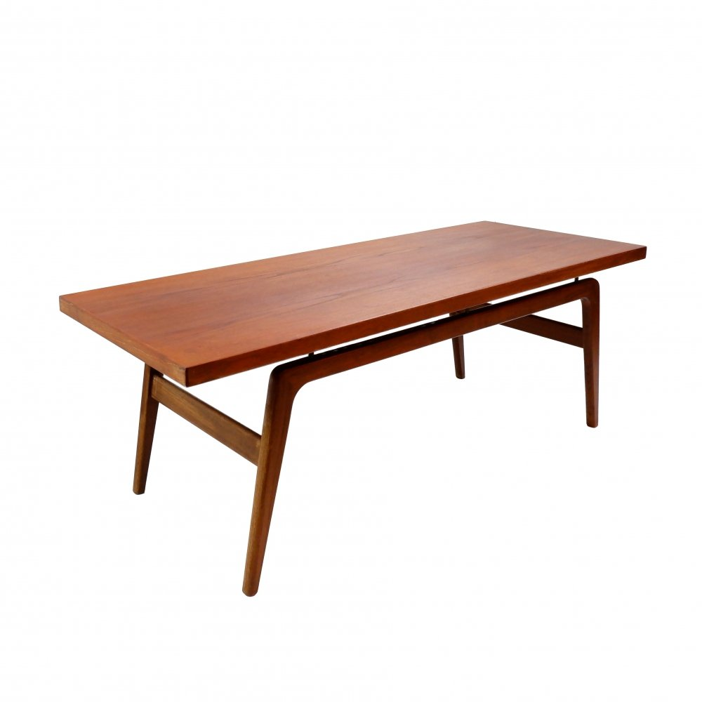 Danish coffee table by Clausen & Son, 1960s
